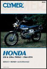 CLYMER MANUAL HONDA CB250 & CL250 1964-1974, CL350 & CB350 1968-1973