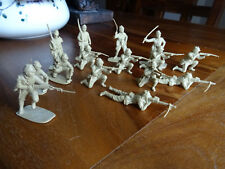 Petits soldats,toy soldiers japonais,Japanese infantry WWII,probably Airfix