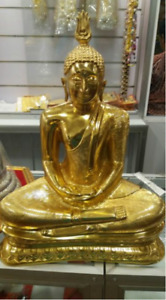 Buddha Statue Sri Lankan Brass Buddha Statue 5 Inch Budda Statue For Home Office