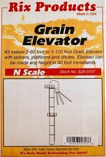 RIX PRODUCTS GRAIN ELEVATOR KIT Kit N Scale 628-0707
