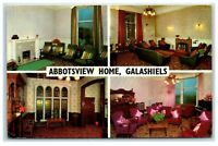 Picture Postcard Abbotsview Home Galashiels Scotland posted 1970