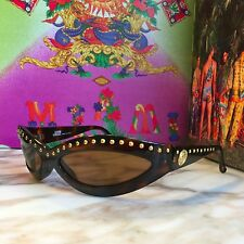 GIANNI VERSACE studded sunglasses Mod. 440/M  Col. 649ND w/ case from 1993