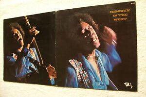 33 tours – Jimi Hendrix – Hendrix in the west