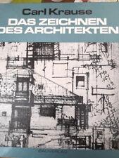 Das Zeichnen des Architekten Fachbuch Architektur techn. 83´ limitierte Auflage