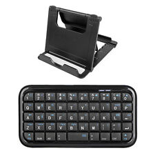Mini Bluetooth Rechargable Portable Keypad + Fold Stand for Smart Phone Tablet