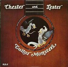 Guitar Monsters Chet Atkins & Les Paul Music-Good Condition