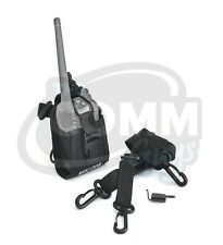 CASE FOR MOTOROLA CP185 CP200 CP150 PR400 RADIO NYLON HOLSTER BELT LOOP POUCH