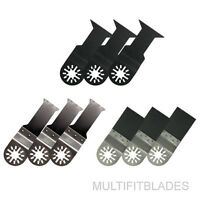 9pc Oscillating Tool Universal Bi-Metal Blade Kit - Bosch Multi-X Compatible