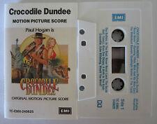 CROCODILE DUNDEE MOTION PICUTRE SCORE SOUNDTRACK AUSTRALIAN CASSETTE TAPE