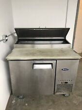 Low Boy Refrigerator With Prep Surface/Prep Station, On Wheels