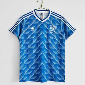 Maglia Vintage Olanda 1988 Retro Soccer Jersey Camiseta