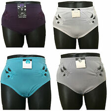 new ladies women full briefs high rise panties sexy knickers xl-xxxxl 12,14,16