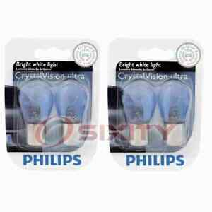 2 pc Philips Back Up Light Bulbs for DeLorean DMC 12 1981-1983 Electrical re