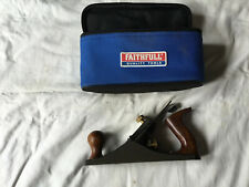 NEW Faithfull Smoothing Plane 50mm Wide Blade 250mm Long With Carry Bag