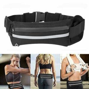 Waterproof Running Belt Bum Waist Pouch Phone Pack Camping Sports Jogging Bag❤G