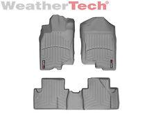 WeatherTech FloorLiner Mat for Honda Insight - 2010-2014 -1st/2nd Row - Grey