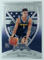 2018-19 Panini Chronicles Crusade Michael Porter Jr Rookie RC #541, Nuggets