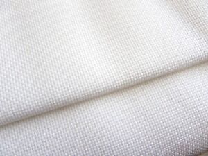 White Lugana 25 Count Zweigart even weave fabric - various size options