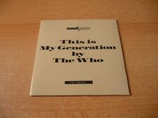 Single CD The Who - This is my Generation - 1988 - 4 Songs