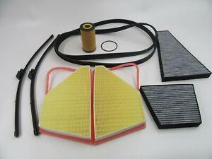 Bentley Gt Gtc Flying Spur belt filter wiper blades maintenance kit #732