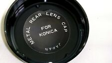 Metal AR Rear Lens Cap for Konica 57mm 55mm f1.4 Hexar Hexanon manual focus