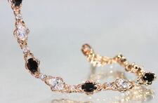 Diamond Rose Gold Filled Fine Gemstone Bracelets