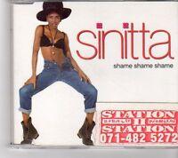 (FK390) Sinitta, Shame Shame Shame - 1992 CD