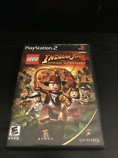 Playstation 2 LEGO Indiana Jones The Original Adventures (Tested)