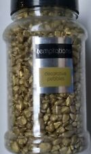 DECORATIVE COLOURED Pebbles Flower Craft Decoration Stones Rocks Gravel Gold