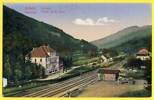 cpa ZABERN SAVERNE en 1918 ZORNTAL GARE BAHNHOF 346e de Ligne Secteur Postal 84