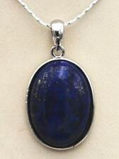 Lapis Lazuli Pendant Beautiful blue natural 18x25mm