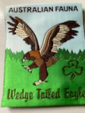 Girl Guides / Scouts Australian Fauna Wedge Tailed Eagle