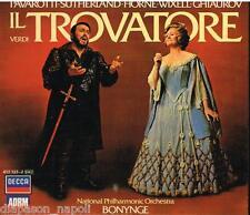 Verdi: Il Trovatore / Bonynge, Pavarotti, Sutherland, Horne, Wixell, - CD
