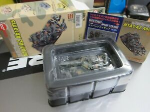 CAN.DO - DOYUSHA - 1/144 - M1A1/A2 - M1A2 Abrams - P1 1996 - Mini Toy TANK C33