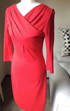 Calvin Klein Size 6 Red Dress NWOT