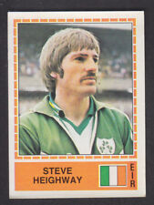 PANINI-EUROPA 80 - # 202 Steve Heighway-in Eire
