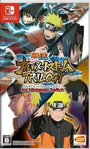 Naruto Shippuden: Ultimate Ninja Storm Trilogy Japan Version Nintendo Switch NEW