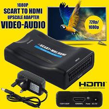 Nouveau 1080P scart à hdmi mhl convertisseur audio vidéo adaptateur pour hdtv sky box stb
