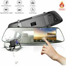 "TOGUARD 4.3"" Rear View Mirror Dash Car Reverse Camera Kits Backup  Cam FHD 1080P"