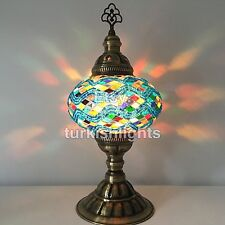 Turkish Mosaic Table Lamp, Light. Large Globe, FREE DHL EXPRESS SHIPPING 2 WORLD