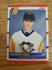 1990-91 Score Canadian #428 Jaromir Jagr RC