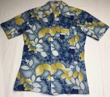 Vintage Hawaiian Button Up Shirt Size Medium Butte Montana