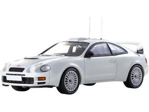 TOYOTA CELICA GT-FOUR (ST205) WHITE 1/18 MODEL CAR OTTO MOBILE FOR KYOSHO OTM874