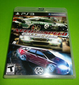 EMPTY CASE!  Need for Speed Trilogy ProStreet Carbon Wanted Sony PlayStation 3
