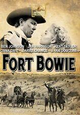 Fort Bowie 1958 (DVD) Ben Johnson, Kent Taylor, Jan Harrison, Larry Chance - New