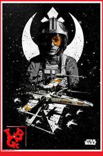 STAR WARS LUKE SKYWALKER Plaque Métal Tin Poster 10 x 14 metal X-Wing # NEUF #