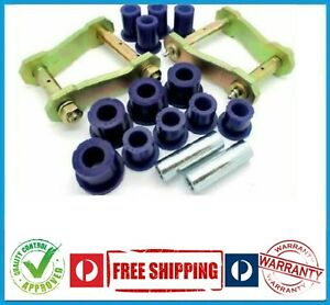 HOLDEN COLORADO RG 4X4 12-ON REAR LEAF SPRING GREASABLE SHACKLE KIT