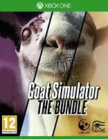 Goat Simulator: The Bundle [Microsoft Xbox One Animal & Goatz & MMO Add-ons] NEW