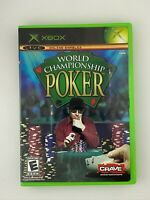 World Championship Poker - Original Xbox Game - Complete & Tested