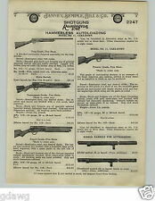 1924 PAPER AD Remington Model 11 Repeating Shotgun Premier Grade Expert Marlin